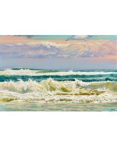 La mer veille...