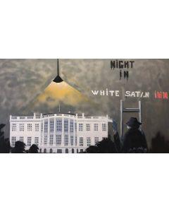 Night in White Satan Inn, Hommage à Banksy (sans cadre)