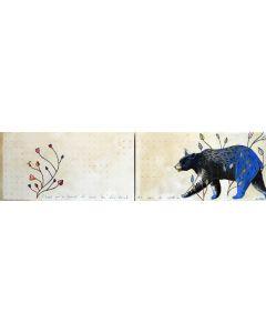 L'ours qui a trouve le coeur du fin fond des bois du nord