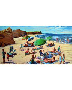 Parasols de plage 'aux Isles'