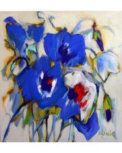 Madeleine Lemire Anémones bleues