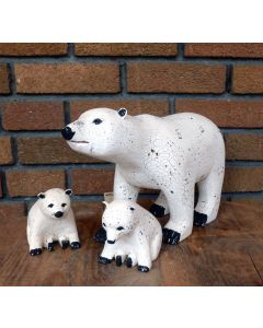 Famille ours polaire