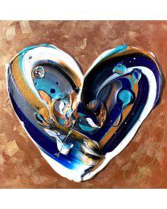 Un coeur à la mer