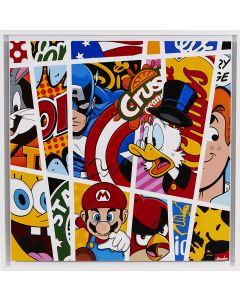 Comic stripes ''Picsou''