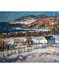 Hiver ů Pointe-Au-Pic, Charlevoix