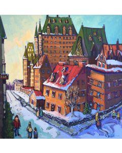 Un matin de Noel dans le Vieux-Québec