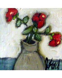 3 fleurs un vase