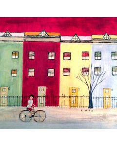 Louise Lauzon 7 piafs, la maison rouge
