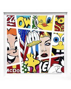 Guy Boudro Comic Stripes Donald