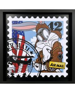Guy Boudro Bugs Bunny Air mail