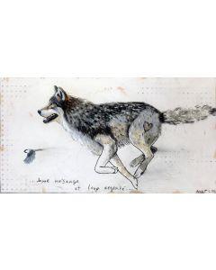 ...dame mésange et loup argenté...