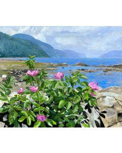 Miguel Forest Les roses du Saguenay