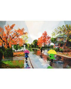 L'automne et la pluie (Neuville)