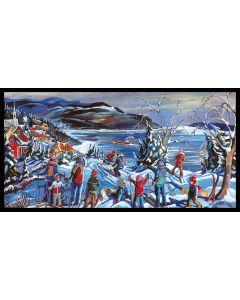 les plaisirs du ski 15 x 30