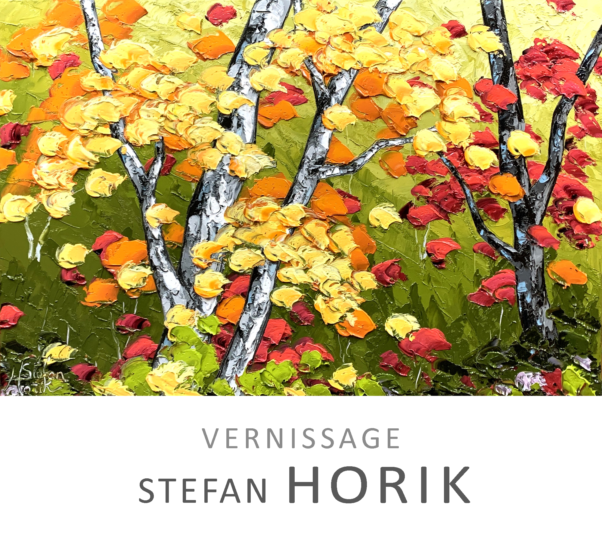 Vernissage Stefan Horik